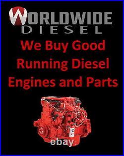 1998 Detroit 60 Series 12.7L DDEC IV Diesel Engine, 470HP, Approx. 387K Miles