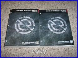 1999-2000 Detroit Diesel 11.1L 12.7L 60 Series Engine Shop Service Repair Manual