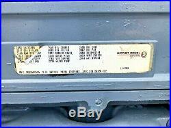 2000 Detroit Diesel Series 60 12.7 Engine DDEC 4, Serial 06R0590535, 6067MK60