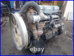 2004 Detroit Diesel 12.7 Liter Series 60 Turbo Engine LOW MILES! RUNS EXC. Truck