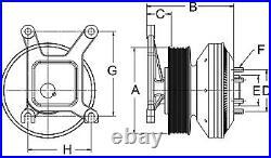 999049 Horton Fan Clutch Detroit Diesel 60 Series Sterling L Line 2000-2005