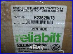 Connecting Rod for Series 60 12.7L Detroit Diesel # 23526078 Ref. # R23526078