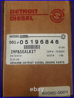 DETROIT DIESEL IMPELLER SEAL KIT 5196846 for 71 and 92 series