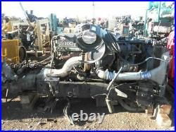 Detroit 60 Series Diesel engine with air exchanger and Eaton Transmission #55700