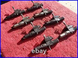 Detroit 8V92 Set of eight Fuel Injectors Series 9A90