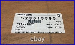 Detroit Diesel 23515595 Crankshaft Series 50 Engine