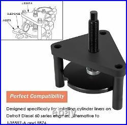Detroit Diesel 60 Series J-35597-A 5874 Cylinder Liner Installer DD60 Tool Alt