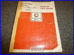 Detroit Diesel 6V92 8V92 12V92 16V92 Series 92 Engine Parts Catalog Manual Book