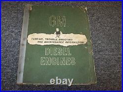 Detroit Diesel GM 71 Series Engine 1-71 2-71 3-71 Service & Maintenance Manual