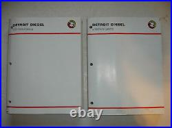 Detroit Diesel PARTS CATALOG Series V53 V-53 Service Shop Manual MARINE 2VOL Set