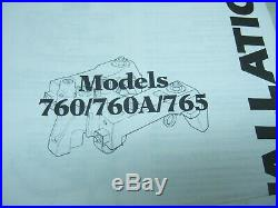 Detroit Diesel Series 60 12.7 Engine Jake Brake Kit with Spacers and Bolts-760B