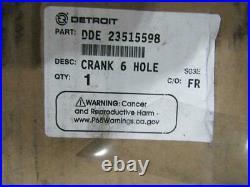 Detroit Diesel Series 60 Crankshaft 6 Hole 23515598