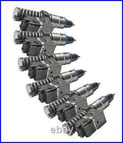 Detroit Diesel Series 60 Fuel Injectors Rebuilt 12.7l (set Of 6) Low $