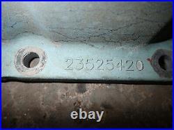 Detroit Diesel Series 60 MARINE MTU Charge Air Cooler Cover 23525420 14.0L S60