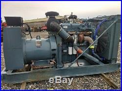 Detroit Diesel Series 60 diesel generator 370kw prime