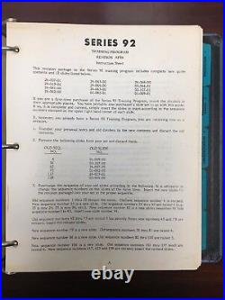 Detroit Diesel, Series 92 Advanced Service Training Guide