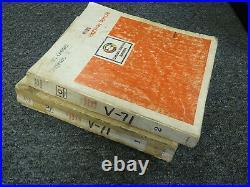 Detroit Diesel V71 Series 6V71 8V71 12V71 16V71 Engine Parts Catalog Manual Set