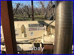 Detroit series 60 diesel kohler commercial generator