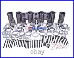 Fits Detroit Diesel 60 series, 11.1L, 12.7L Inframe Overhaul Kit