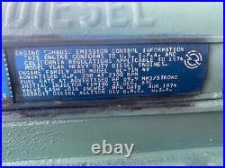 Good GM Detroit 6L-71N Diesel Engine 671 Model 1067-8517 Non-Turbo 6-Cylinder