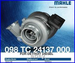 MAHLE 098 TC 24137 000 Turbo for DETROIT DIESEL 60 Series 12.7L TMF5502