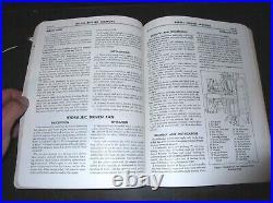 Original Detroit Diesel Series 71 4-71 6-71 Diesel Engines Maintenance Manual