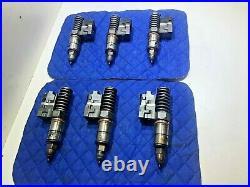 SET of 6 Detroit Diesel 60 Series 12.7 Injectors 4790 OEM