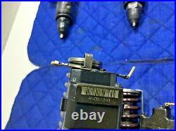 SET of 6 Detroit Diesel Series 60 12.7 Injectors Peterbilt Kenworth R4057340 OEM
