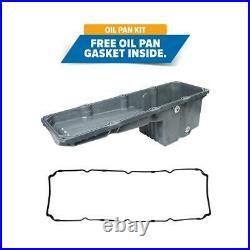 Steel front sump engine oil pan, Detroit Diesel series 60 engines